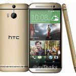 HTC One i guld lækket af @Evleaks (Kilde: Evleaks)
