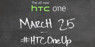 The All New HTC One - HTC One Up - HTC OnePlus lanceret den 25. marts 2014 (Kilde: HTC)