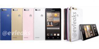 Huawei Ascend G6 lækket af @Evleaks