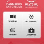 Screenshots fra applikationen Sikker på Ski