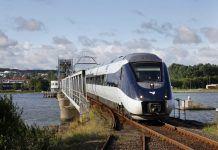 DSB tog transport IC4