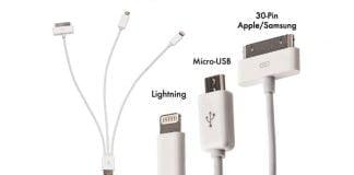 Oplader micro-USB Lightning