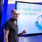 Satya Nadella præsenterer A cloud for everyone on every device