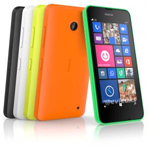 Nokia Lumia 630 (Kilde: @Evleaks)