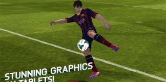 Screenshots fra FIFA 14 til Android