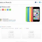 iPhone 5C modeller hos Apple