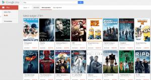 Google Play Store Movies