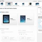 iPad med Retina 16GB kan købes på Apple.com