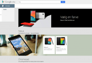 Google Play Store åbner for køb af hardware enheder
