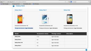 Samsung om kommende opdateringer