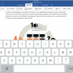 Office for iPad - Microsoft Word