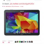 Evleaks har lækket billede af Galaxy Tab 4 10.1