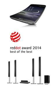 LG G Flex vinder Best of the best til Red Dot Awards 2014