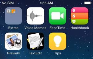 Kommer iOS 8 med disse nye applikationer