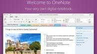 Notatprogrammet OneNote fra Microsoft kan nu hentes på Mac.