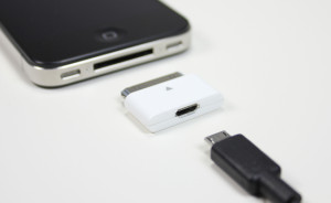 Micro-USB 30-pin Apple