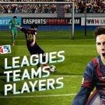 Screenshots fra FIFA 14 til AndroidScreenshots fra FIFA 14 til Android
