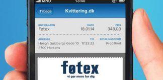 Dansk Supermarked klar med digitale kvitteringer