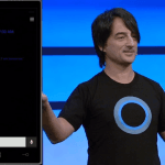 Joe Belfiore på scenen til BUILD 2014