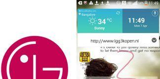 LG G3 screenshot af UI (Kilde: Pocketnow)