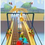 Screenshots fra spillet Subway Surfers
