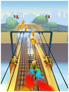 Screenshots fra spillet Subway Surfers