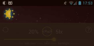 Lux screenshot