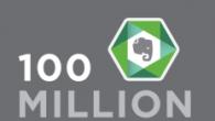 Den populære notatapplikation Evernote har netop annonceret, at de har rundet 100 millioner brugere.