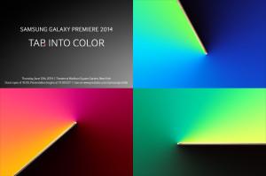 Samsung Premiere Tablet event