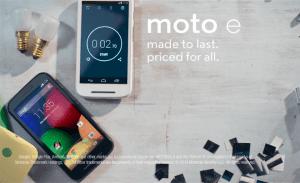 Motorola Moto E (Foto: Motorola)
