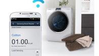 Samsung producerer foruden smartphones også blandt andet vaskemaskiner og du kan styre og overvåge vasketøjet i Samsung WW9000 direkte på din smartphone.