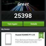 Screenshot fra Huawei Ascend P7