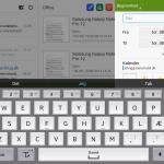 Screenshot fra Samsung Galaxy Note Pro 12.2