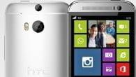 De første billeder af en formodet Windows Phone version af HTC One (M8) er lækket.
