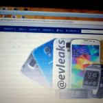 Er dette Samsung Galaxy S5 mini? (Kilde: Evleaks)