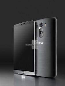 Lækkede billeder af LG G3 (Kilde: PhoneArena.com)
