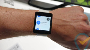 LG G Watch med Android Wear (Kilde: Pocketnow.com)