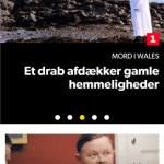 DR TV applikationen på mobilen