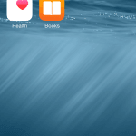 iOS 8 beta screenshot