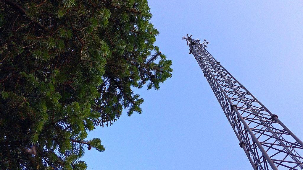 Mobilmast telemast netværk