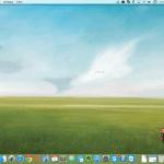 Screenshot fra OS X Yosemite