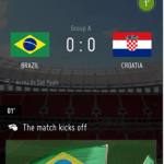 Screenshots FIFA Officielle VM app