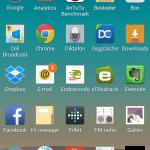 Screenshot fra LG G3