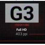 LG G3 skærm