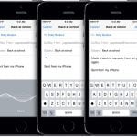 Dikteringsfunktionen kan dansk i iOS 8 (Foto: Apple)