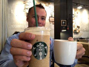 MobilePay på Starbucks