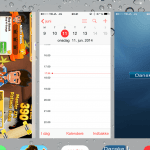 Screenshot iOS 7 multitasking