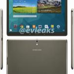 Samsung Galaxy Tab S 10.5 (Kilde: @Evleaks)