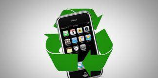 iPhone genbrug