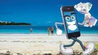 PRISGUIDE: Taksterne for roaming i udlandet er faldet, men selvom smartphonen kan bruges langt billigere, er det stadig vanvittigt dyrt. Se her hvad det koster.